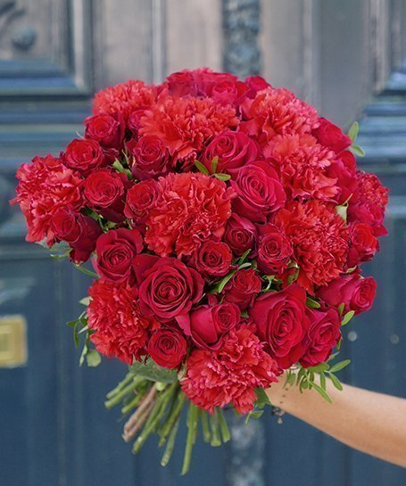Carnation20And20Rose20Red20Venera20Flowers203 1