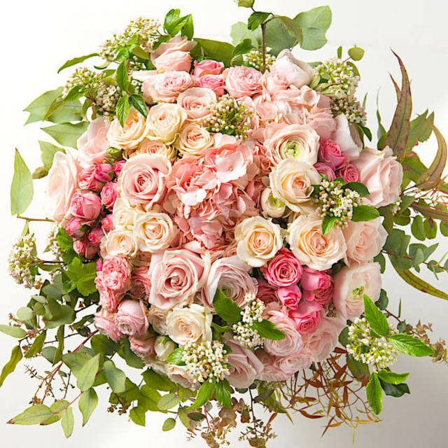 Hydrangea20And20Rose20Pinky20Flower20Venera20Flowers202 1